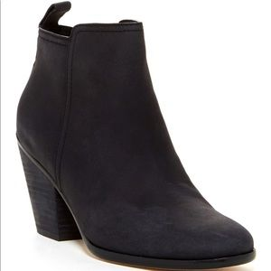 Cole Haan Black Chesney Leather Ankle ZIP Boot 6